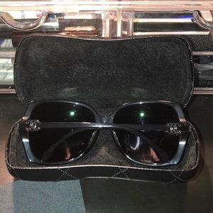 64a8db0c5f31 CHANEL Accessories - CHANEL Sunglasses 5216 Black